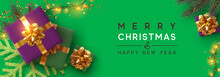 Christmas Banner. Background X...