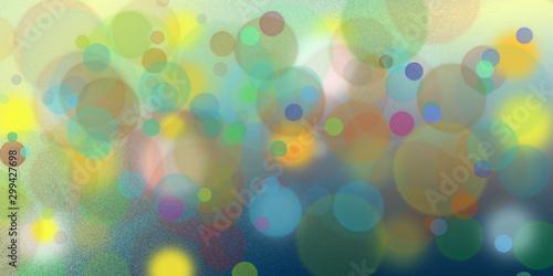 Fotografie, Obraz  Sfondo astrattocon aloni  di luce multicolore