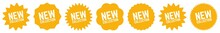 New Collection Tag Orange | Special Offer Icon | Sticker | Deal Label | Variations
