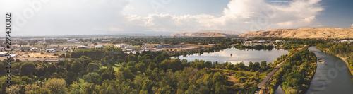 Obraz Yakima Aerial Landscape - fototapety do salonu