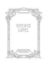 Label, Decorative Frame, Borde...