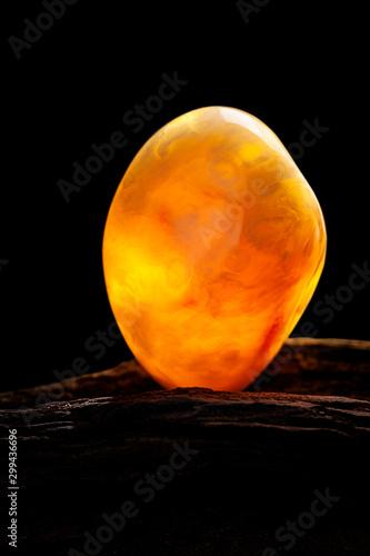 Canvas Print Natural amber
