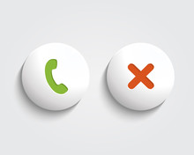 Vector Answer The Call, Cancel...