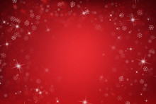 Red Christmas Background With ...