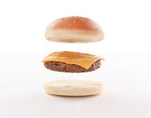 Burger Layers, Bun, Toast Brea...