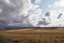 Storm Clouds And Mesas In The ...