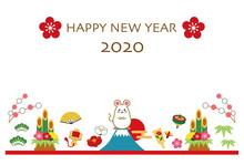 2020年 子年 年賀状