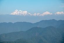 Snow Covered Himalaya Mountain...