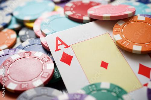 Pinturas sobre lienzo  Casino concept view