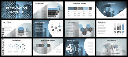 Cuadros en Lienzo Business presentation templates