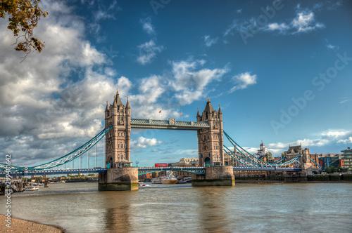 The beautiful city of London. United Kingdom Canvas Print