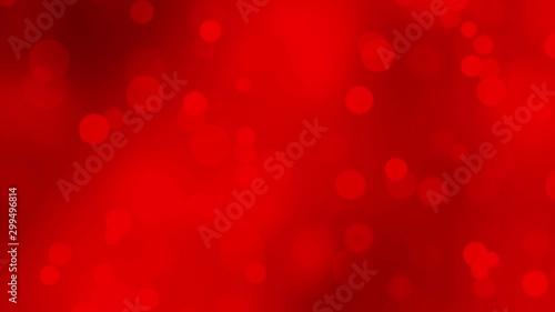 Fotografie, Obraz  Christmas Defocused Bokeh light background