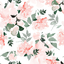Seamless Summer Pattern With W...