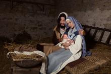 Live Christmas Nativity Scene ...