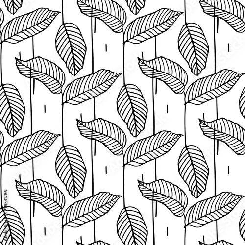 hand-drawn-seamless-floral-pattern-with-leaves-outline-drawing-with-foliage-design-element-graphic-print-texture-with-a-leaf-for-fabric-textile-industry-wrapping-paper-home-decor