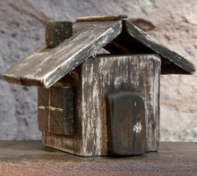 Handmade Miniature Old Wooden ...
