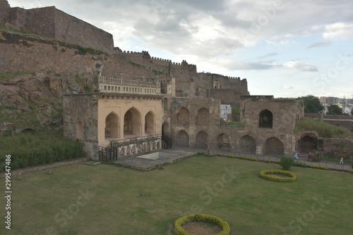Photo Golconda fort, Hyderabad, Telangana, India