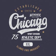 """""""Chicago. Athletic Dept."""""""