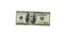 Hundred-dollar Bill. Vector Il...