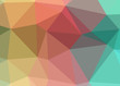 Colorful theme abstract background triangles trianglify colorful beautiful simple pattern design wallpaper illustration texture