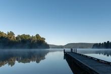 Beautiful Shot Of Lake Mapouri...