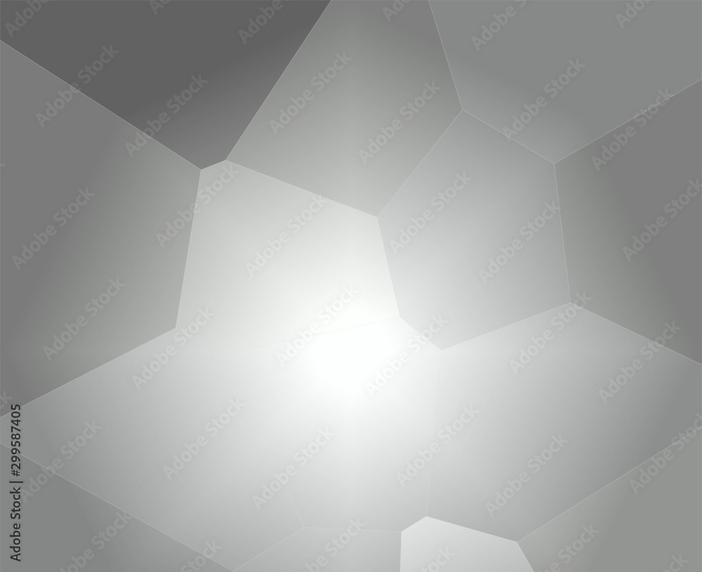 Background, illustration. The image resembles the exit from the maze to the bright light ahead. Color white, gray, calm tone.   Gives the impression of long-awaited relief, freedom and ease.