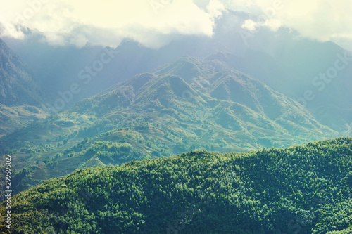Mountains in Vietnam
