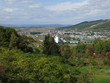 三笠山自然公園から見る和寒市街