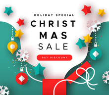 Special Christmas Sale Templat...