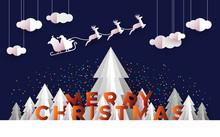 Christmas Card Papercut Pine T...