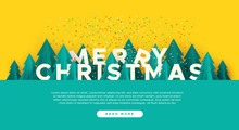 Merry Christmas Web Template P...