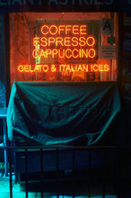 Neon Sign For Coffee Shop