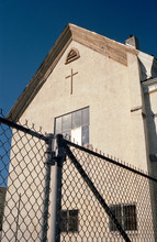 View Of Crucifix On Building T...