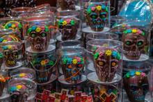 Chocolate And Sequin Skulls, ...