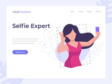 Selfie Expert, Woman Selfie Ve...