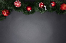 Xmas Bauble Shiny Red Color Ag...