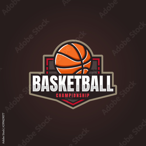 Photo  Basketball Logo, American Logo Sport