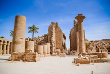"The Karnak Temple Complex, Commonly Known As Karnak Meaning ""fortified Village"", Comprises A Vast Mix Of Decayed Temples, Chapels, Pylons, And Other Buildings"