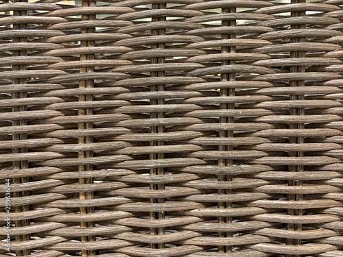 Photo texture vimini intrecciato