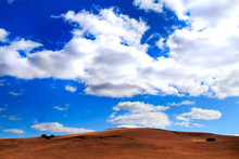 Blue Sky And Clouds. Vast Expa...