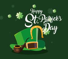 Happy Saint Patricks Day Vector Design