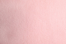 Pink Knitted Sweater As Backgr...