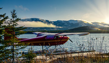 Yukon River Sunset In Whitehorse