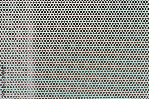 Pinturas sobre lienzo  Steel plates with holes for texture.
