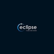 Eclipse Logo Template Design Idea