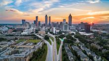 Atlanta, Georgia, USA Skyline ...