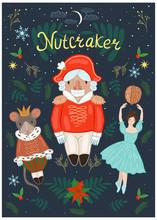 Nutcracker Poster With A Nutcr...