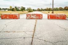 Heavy Concrete Roadblocks