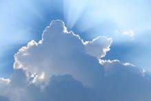後光ー雲と天使のはしご