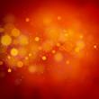 Leinwandbild Motiv Christmas red glitter light bokeh abstract background.